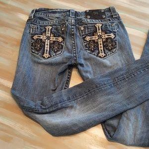 Miss Me jeans cross size 27